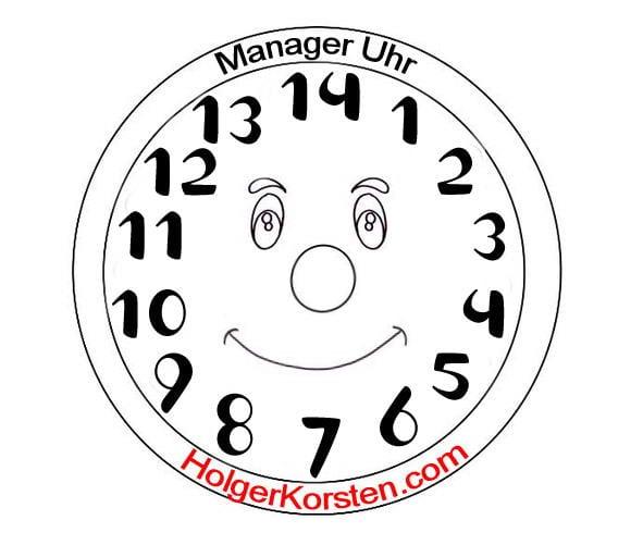 Uhr 28 Stunden Tag für Manager