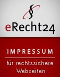 Siegel Impressum e-recht24.de