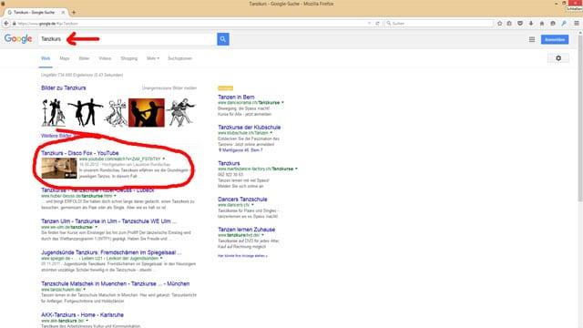 Auf Seite 1 in den Google Suchergebnissen durch YouTube
