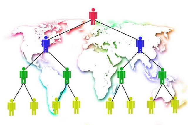 Struktur Network Marketing
