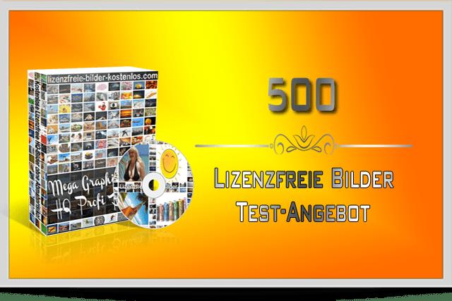 500 Lizenzfreie Bilder Test Angebot