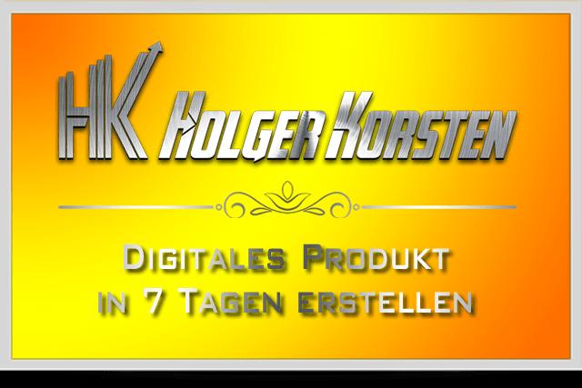 Digitales Produkt in 7 Tagen erstellen